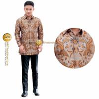 baju kemeja batik pria semi sutra lengan panjang terbaru artha 03