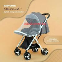 stroller kereta dorong bayi babydoes baby does nexus ch-tn 728 stroler