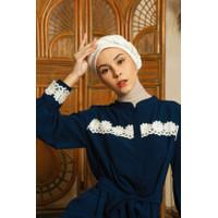 Dress Muslim Wanita LID Balqis Dress Embroidery - SM
