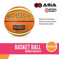 Basketball Bounce Rubber 5500 (NO.5) I Bola Basket Karet