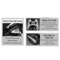 Paket Aksesoris Resmi Honda Vario 110 FI – Silver 08000K46CRO