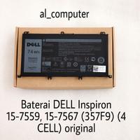 Baterai DELL Inspiron 15-7559, 15-7567 (357F9) (4 CELL) original