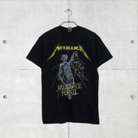 Baju Kaos Band Official Metallica (And Justice For All Tracks) Tshirt