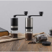 AMAZONE TOP SELLING HIGH QUALITY MANUAL COFFEE GRINDER BLACK COLOUR [P