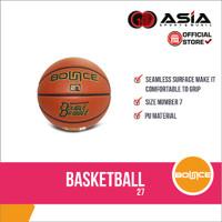 Basketball Bounce PU 27 (No.7) I Bola Basket Kulit Syntetic