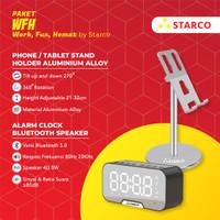 Starco Tablet/Phone Stand Holder Speaker Bluetooth Jam Bundling WFH10