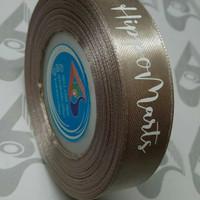 Sablon Pita Satin (Label Kado - Label Hijab - Label Baju)