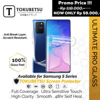 Tokubetsu Samsung S8 Series Anti Gores Hydrogel - Screen Protector - S8, Front