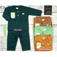 Petite Bear Setelan Panjang anak 3-12 bulan bayi baju celana sml