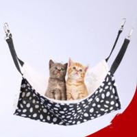 Pet Cage Hammock Kandang / Tempat Tidur Gantung Kucing Ayunan
