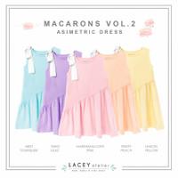 Dress Anak Perempuan Macarons Asimetric Dress Lacey Atelier