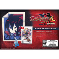 Nintendo Switch Disgaea 4 Complete + A Promise of Sardines Edition