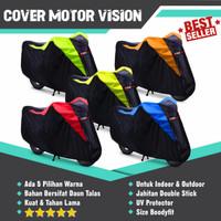 Cover Motor Sport GSX Ninja Vixion CBR 150R R15 Sarung Motor Anti Air - Kuning