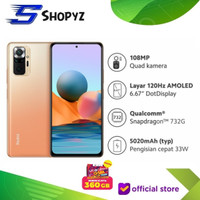 XIAOMI REDMI NOTE 10 PRO NFC - 6GB 64GB 6/64 - SNAPDRAGON 732G - RESMI