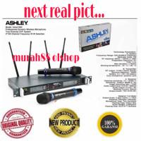 MIC ASHLEY VOICE 1000 MICROPHONE WIRELESS ASHLEY ORIGINAL new 4 antena