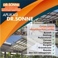 Spandek Transparan / Dr.Sonne (XT-1000) / Atap Polycarbonate (4 meter)
