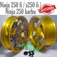 Velg Axio Double disc depan Vixion New Tapak Lebar 3inc sama 4,5inc