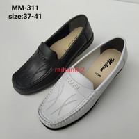 Sepatu Pantofel Wanita Formal Sepatu Milton MM 311