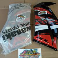 Fairing sayap body cover tameng ninja rr new Setriping SE ORIGINAL