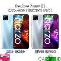 Realme Narzo 20 - 4GB 64GB (4/64) - New Original Garansi Resmi