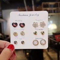 Giwang Anting Tusuk 6 pasang Fashion Jewellery Monday - Saturday - 4