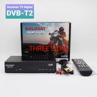 Set Top Box TV Digital GOLDSAT REVO DVB-T2 terrestrial