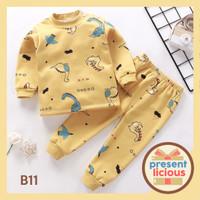 Piyama Bayi / Setelan piyama bayi / Baju Tidur Bayi dan Anak Impor - B11, Umur 6-12 Bulan