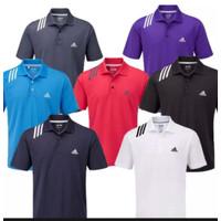 Kaos Kerah Pria Premium / Kaos Polo Shirt Adidas / Size M-L-XL-XXL