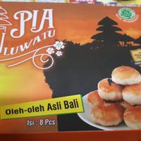 Pia Uluwatu Rasa Coklat Keju Kacang Ijo Abon Ayam Oleh-Oleh Khas Bali