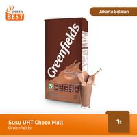 Susu Greenfields UHT Choco Malt 1 L
