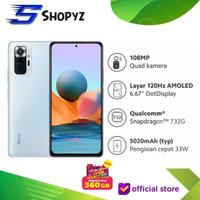 XIAOMI REDMI NOTE 10 PRO NFC - 8GB 128GB 8/128 SNAPDRAGON 732G - RESMI