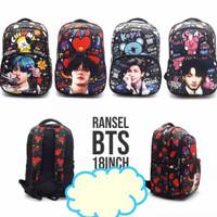 tas bts bt21 tas sekolah tas anak tas travel tas korea bt21 jungkook
