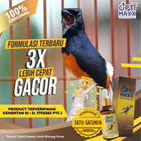 OPTIMAXX Suplemen Vitamin Tetes Burung Kicau Lovebird Murai Kenari - 1 PCS