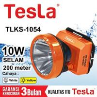 Senter Kepala Super Led 10w 10 Watt Nyelam Tesla TLKS 1054 Cas Recas