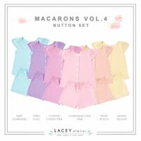 Setelan Anak Perempuan Macarons Buttons Set Lacey Atelier
