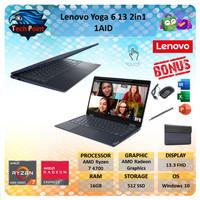 Lenovo Yoga 6 2in1 Touch FABRIC Ryzen 7 4700 16GB 512ssd Vega7 13.3FHD