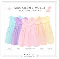 Dress Anak Perempuan Macarons Babydoll Dress Lacey Atelier