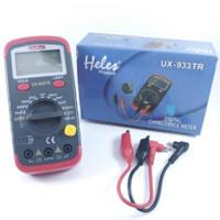 Multitester Avometer Digital Kapasitor Heles UX-933TR - Capasitor 933