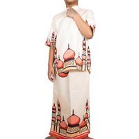 Setelan Baju Koko Anak Sand cream