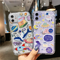Space Out Anticrack Case IPHONE 6 7 PLUS SAMSUNG OPPO VIVO S1 V9 REDMI