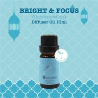 Bright & Focus (Concentration) Diffuser Oil-Owellness Essential Oil