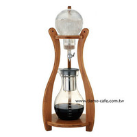 Tiamo HG6333 Cold Drip Brew Bamboo Wood Tower 10 cups