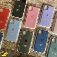 SILICONE CASE ORIGINAL APPLE IPHONE 11 PRO MAX 6.5 SILICON BACK COVER - Tulis Di Note