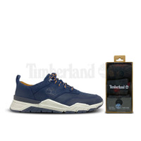 Timberland Men Concrete Trail Oxford Navy Free Socks