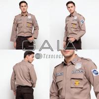 Baju seragam satpam - security terbaru PDL SATU Bahan GAIA Neo Premium