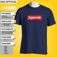 Kaos Plesetan Supreme Fashion Pria Wanita T shirt Tshirt Distro Ori