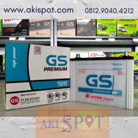 Aki Mobil GS Premium NS 70 / 65D26R (65Ah) Aki Basah ORI Astra