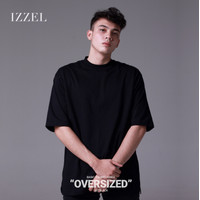 Izzel Oversized T-shirt - Jet Black