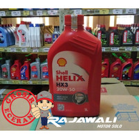 Oli Shell Helix HX3 1L 20W-50 For Diesel and Gasoline Engines