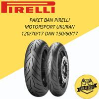 PAKET BAN PIRELLI MOTORSPORT UKURAN 120/70/17 DAN 150/60/17